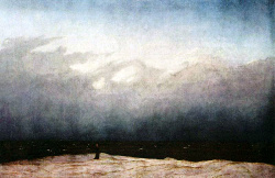 Moench am Meer - Caspar David Friedrich