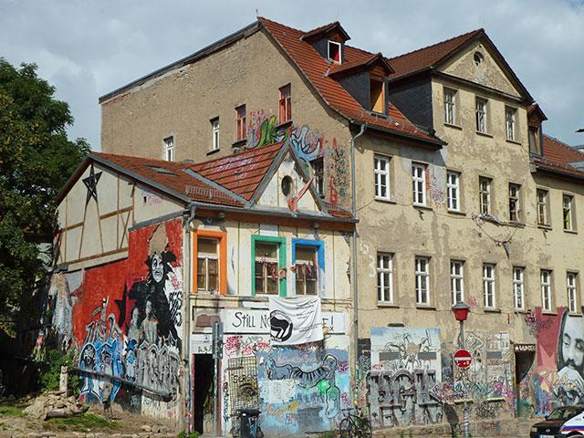 Weimar lese spaziergang durchs jakobsviertel for Alternatives wohnen