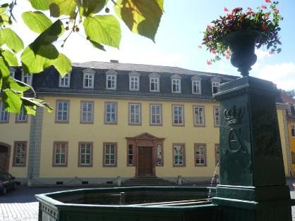 Goethes Wohnhaus in Weimar