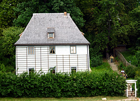 weimar lese goethes gartenhaus. Black Bedroom Furniture Sets. Home Design Ideas